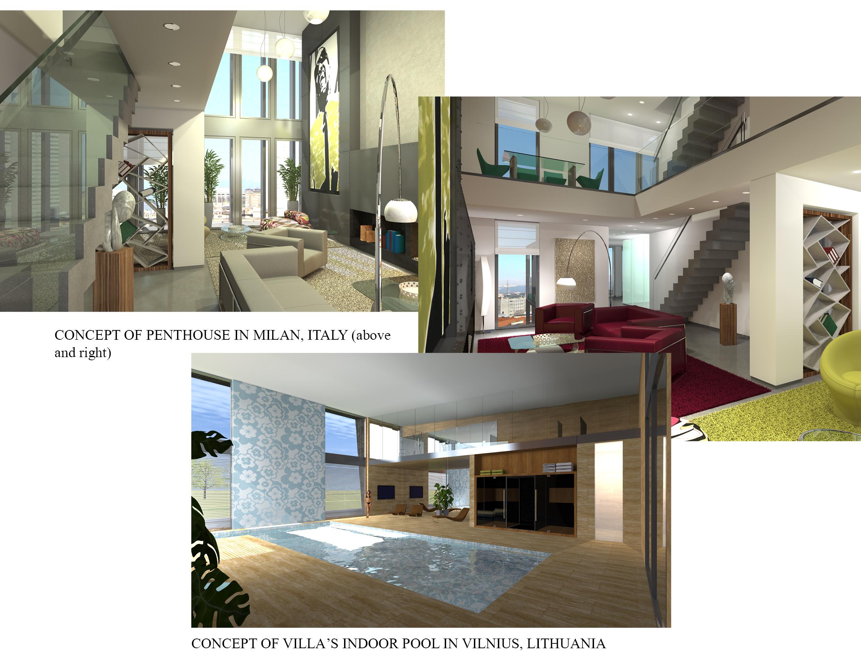 Iris Fabbri's Architectural Rendings