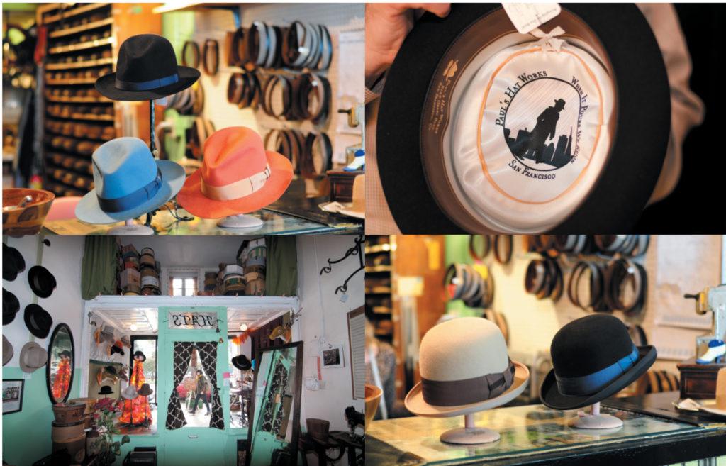 Paul's Hats (photography credit: Richard Williamson)