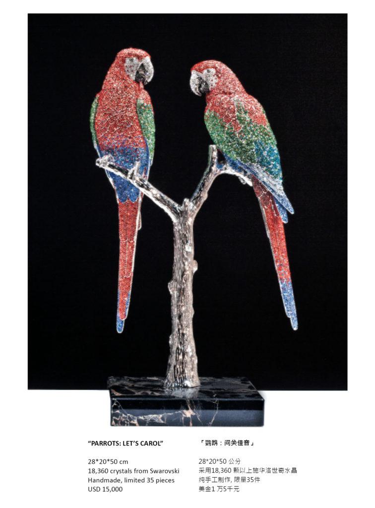 Parrots by CasBella