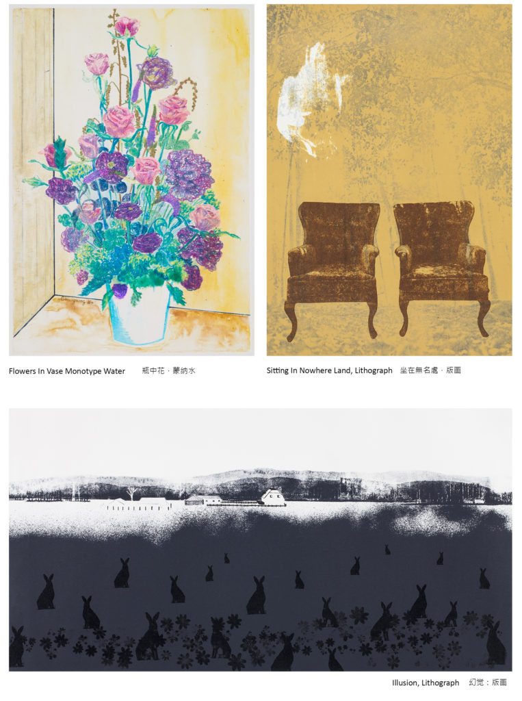 Paintings by Young Bin Cho