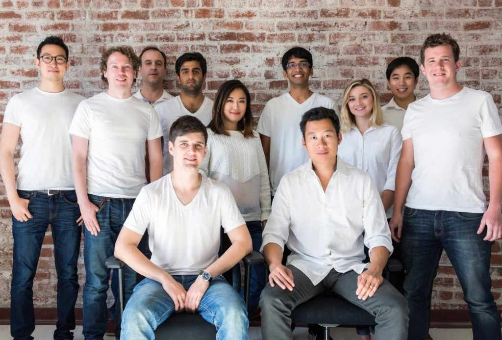 The Atrium LTS (Legal Technology Service) team. Photo Credit: TechCrunch