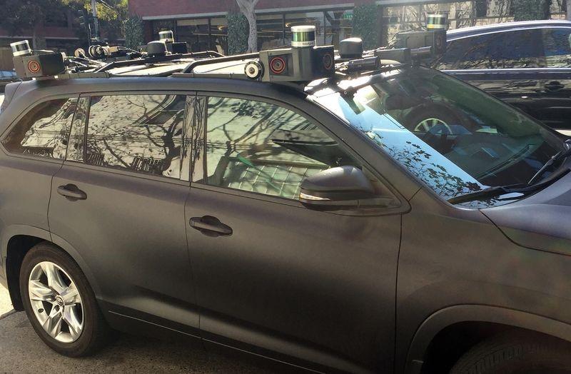 Zoox autonomy prototype car. Photo Credit: Bloomberg